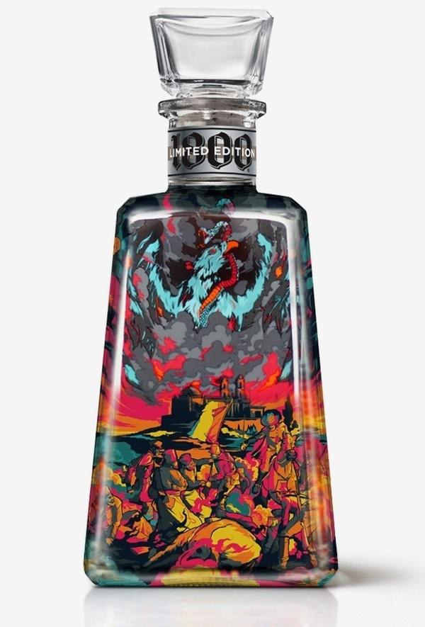 02 #i #bottle #packaging #alcohol #liquor #dust #tequila #love