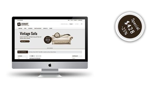Responsive Oscommerce Theme #oscommerce #site #responsive #theme #mobile #template #ready