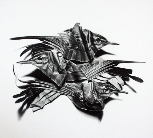 David B. Smith Gallery | Christina Empedocles, Unkempt 1 #handmade #collage #paper #art