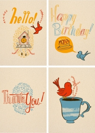 design work life » cataloging inspiration daily #greeting #card