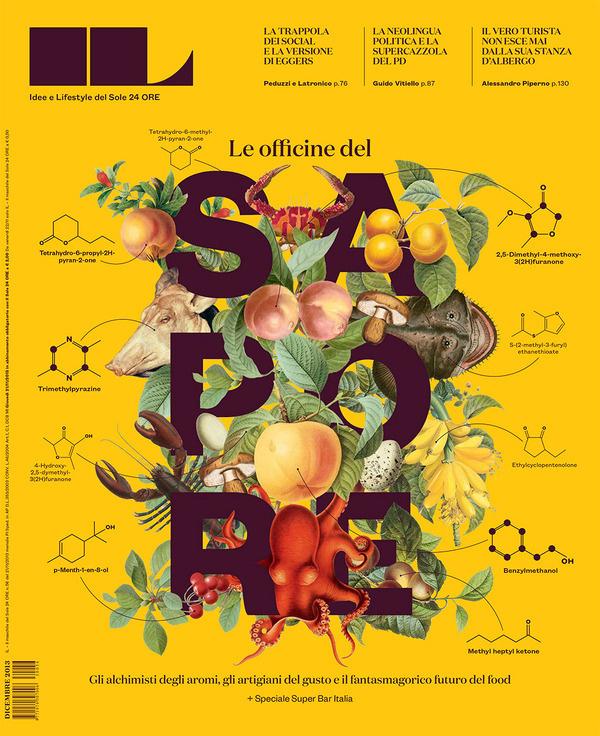 IL Sole 24 Ore #food #illustration #covr #type #magazine