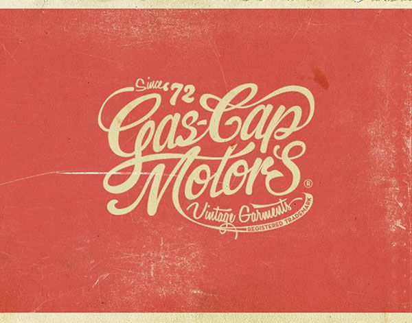 Gas Cap Motor's Branding on Behance by alexramonmas studio www.alexramonmas.com