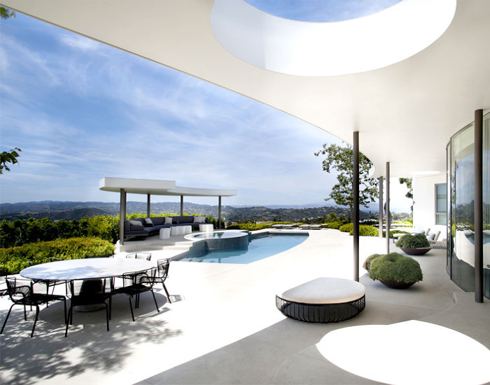 Beverly Hills Situated House Project by Dennis Gibbens Architects - #architecture, #house, #housedesign, #outdoor