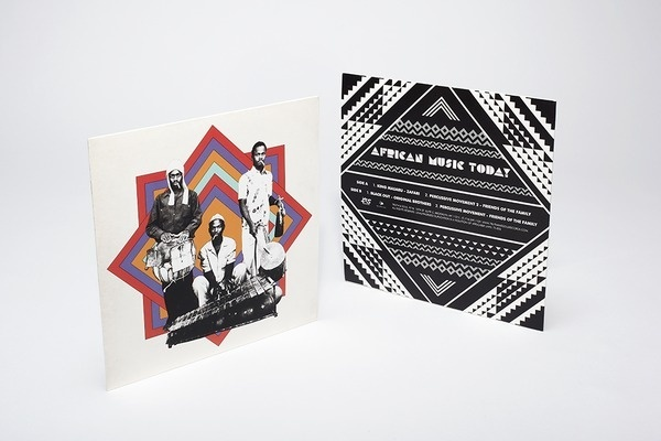African Music Today #packaging #geometric #hightide #truthandsoul #vinyl #hightidecreative