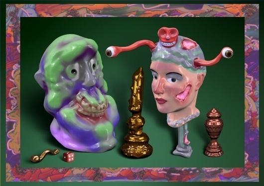 VVORK #sculpture #weird #art #lol #funny