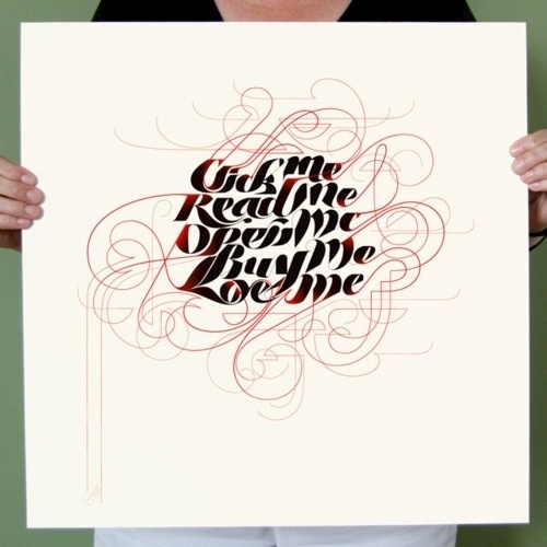 Typeverything.com - Click me by Marian Bantjes - Typeverything #typography