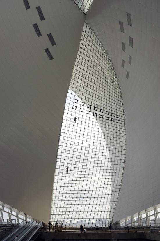 Maritime Museum, Lingang New City, China (Photo: Jan Siefke) #museum