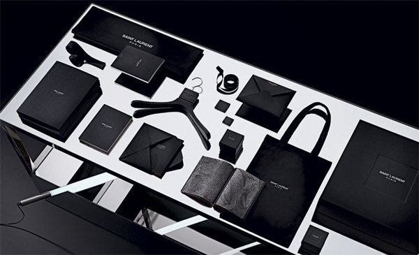 Saint Laurent rebrand by Hedi Slimane #brand #visual #identity #collateral