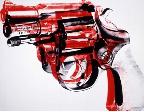 warhol: #gun #warhol