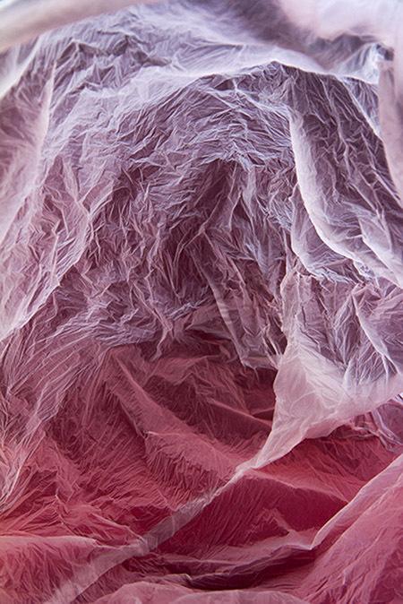 Plastic Bag Landscapes #bag #plastic #photo #structure