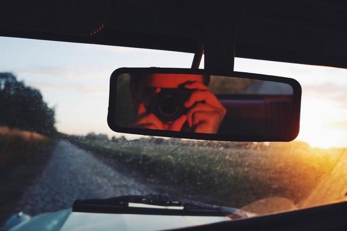#france #summer #car #2CV #vintage #sunset #holiday #explore #travel #countryside #road #camera