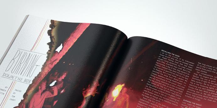 Surfing Magazine Editorial 2012 - Joy Stain #surf #surfing #print #spread #layout #editorial #magazine #typography