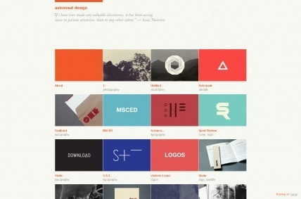 Minimalist Sites Of The Week – August 25th   Design Woop   The Web Design and Development Blog #grid #color #quotation