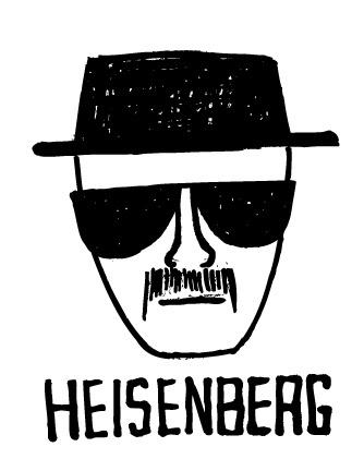 Heisenberg Drawing | Jonas Claesson #breaking #bad #heisenberg
