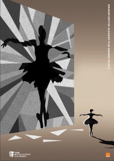 2011 Film Brochure and Ticket Illustrations - Film - Awards - The BAFTA site #illustration #film