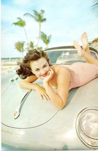 i love my 911 #porsche #vintage #girl