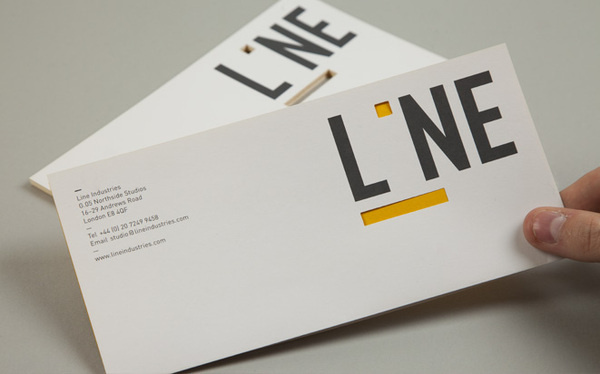 Line — Ranch #die #cut #print #stationery #logo
