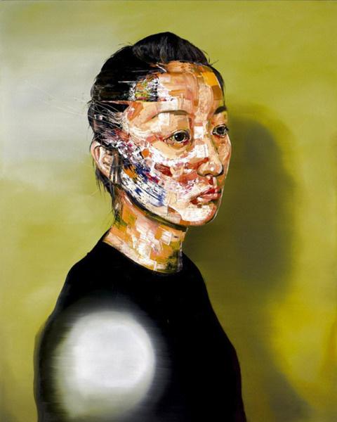 Marefumi Komura2 #abstract #paintings #portrait #painting #art