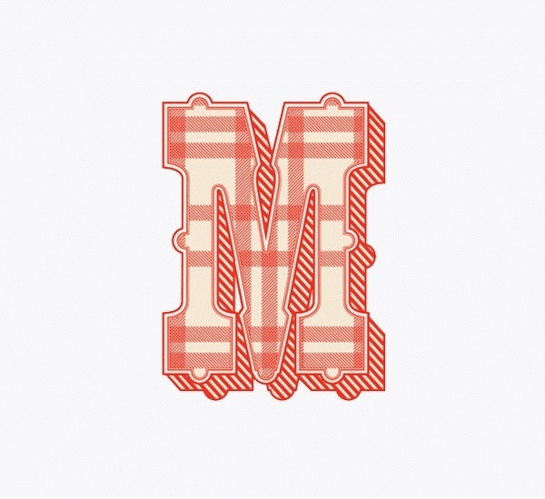 Chav A Chromatic Typeface on Typography Served #font #typeface #typography