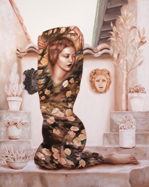 Alison Blickle   PICDIT #design #texture #painting #art #fashion