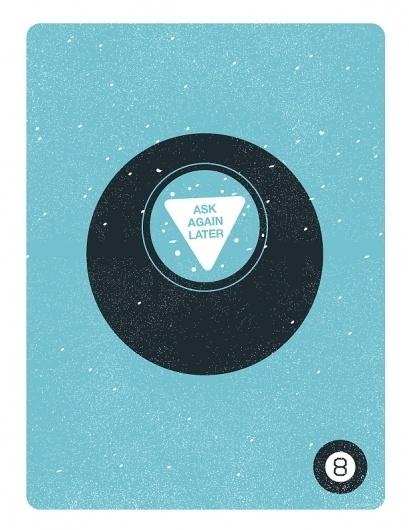 Dribbble - 8ball.jpg by Dave Behm #vector #freelance #illustrator #design #retro #texture #poster #art