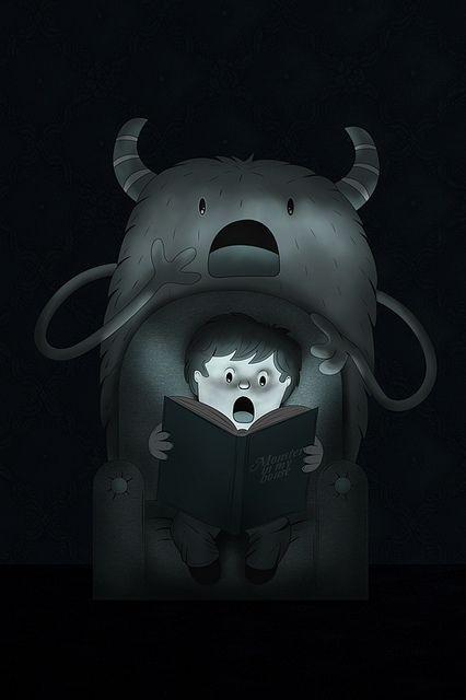 Monsters by ospina_oscar #inspiration #dream #illustration #art #monster