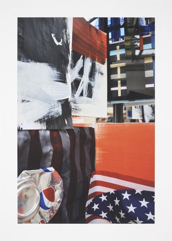 Josephine Meckseper - Untitled (2012) #statement #print #culture #painting #art #2d #consumerism