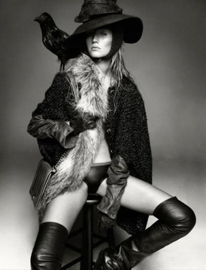 Merde! - Fashion photography (Greg Kadel shoots Toni Garrn... #fashion