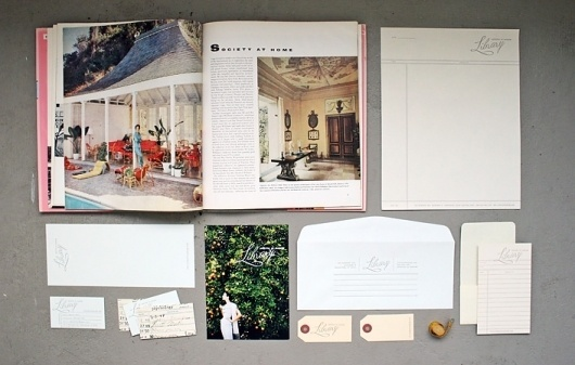 Library, Archives of Fashion « Stitch Design Co. #branding #identity #stationary