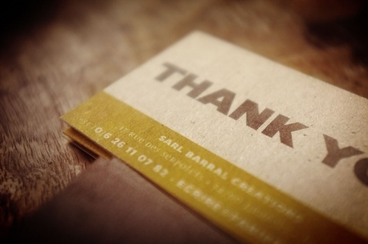 Graphic-ExchanGE - a selection of graphic projects #business #you #card #wood #thank #paper #cup