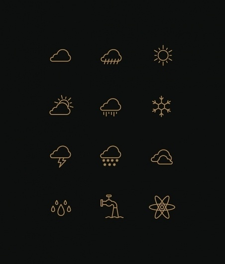 Tim Boelaars #weather #icons