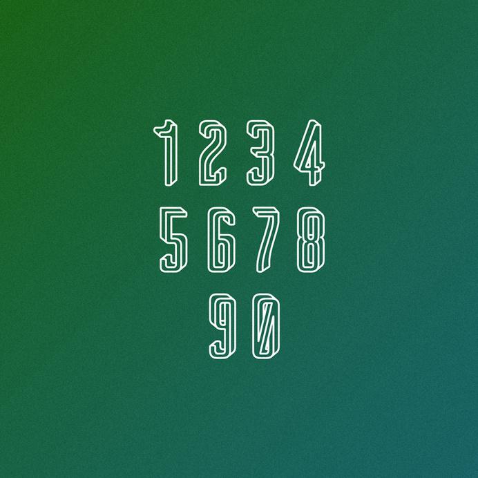 Impossible typeface #font #impossible #escher #typeface #mc