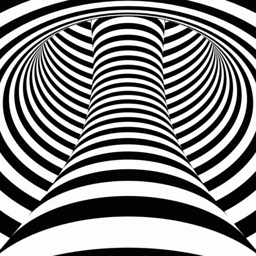 The Sixteenth Division #white #stripes #relax #black #and