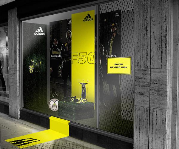 Window Display #display #window #adidas #retail