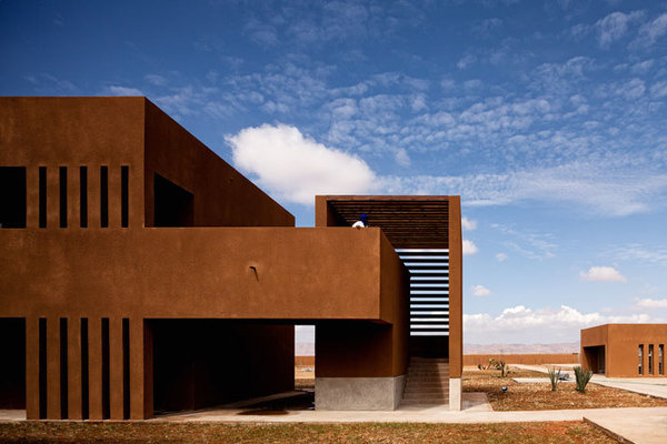 The Technology School of Guelmim In Morocco by Saad El Kabbaj, Driss Kettani,Mohamed Amine Siana (2011) #architecture