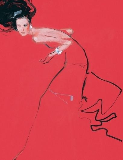Haute Couture Fashion Illustration – Illustration inspiration on MONOmoda #fashion #illustration