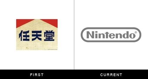 Logos Of Famous Brands, Then And Now DesignTAXI.com #logo #branding