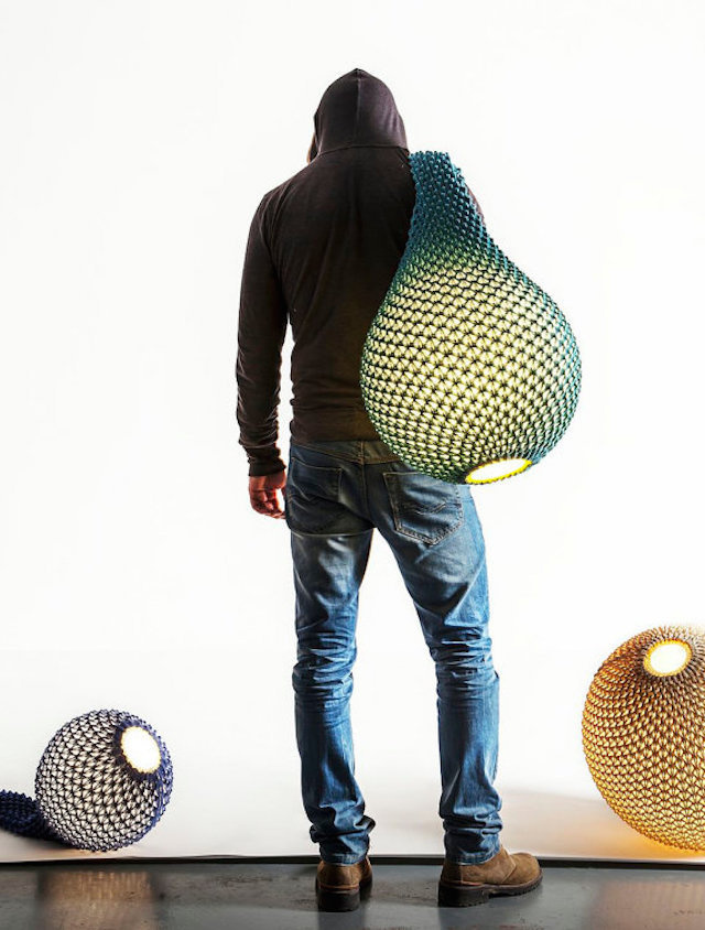 Knitted Light by Ariel-Oded_1 #knitted #light