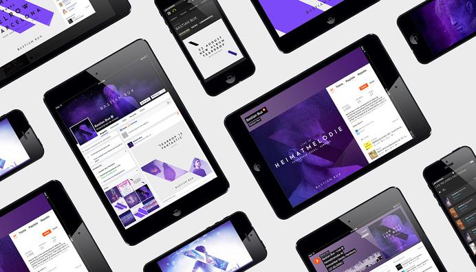 #visual #identity #BaxtianBux #branding #aranda #online
