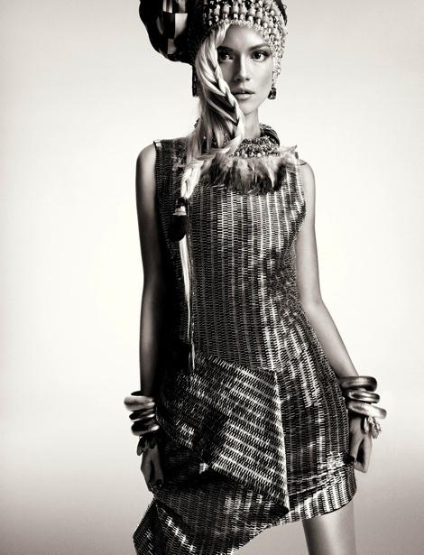 Kasia Struss by Greg Kadel for Numéro France