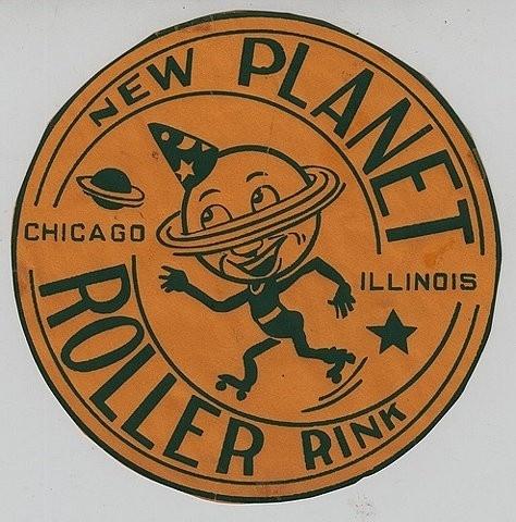 Logos / FFFFOUND! | New Planet Roller Rink - Chicago, Illinois on Flickr - Photo Sharin #design