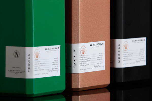 Alma Noble by Parallel #packaging