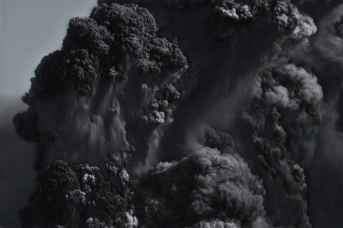 smoke #smoke #black #dust #fire #vulcano #nature #dark