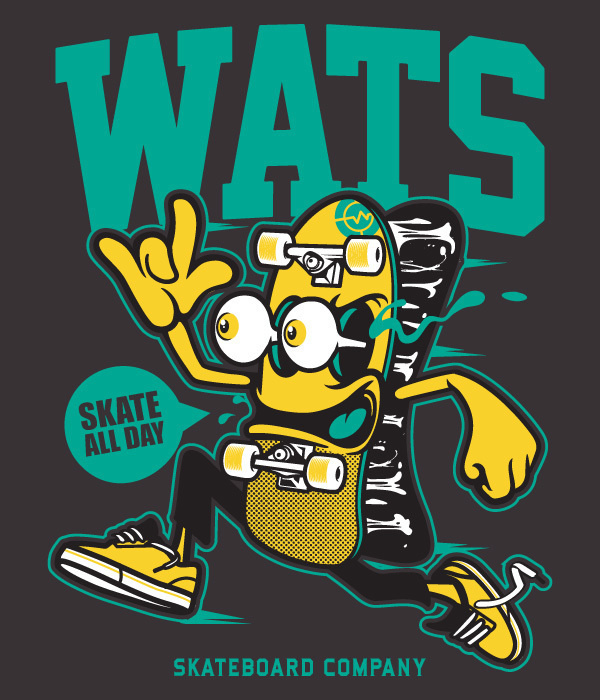 Various Projects/ Character Design 9 on Behance #skateboard #character