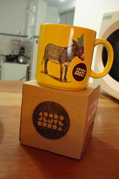 Adoro Jente Burra #logo #identity #mug