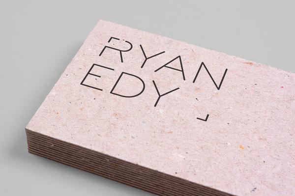 Ryan Edy Business Cards #logo #photography