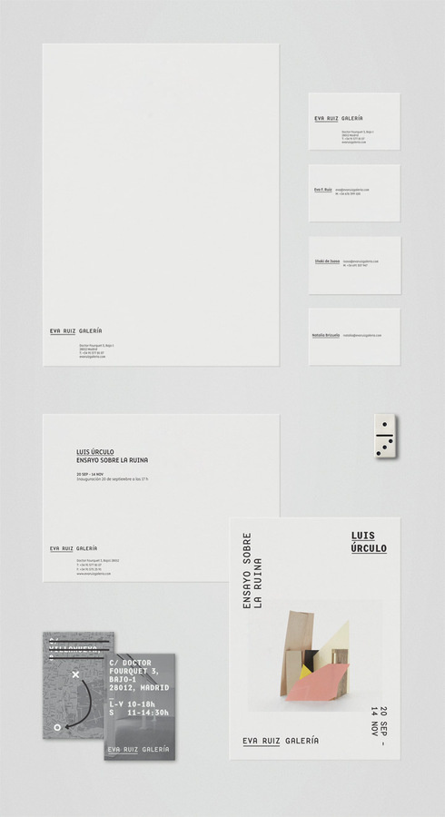 Tres Tipos Gráficos #print #design #typography #identity #stationary
