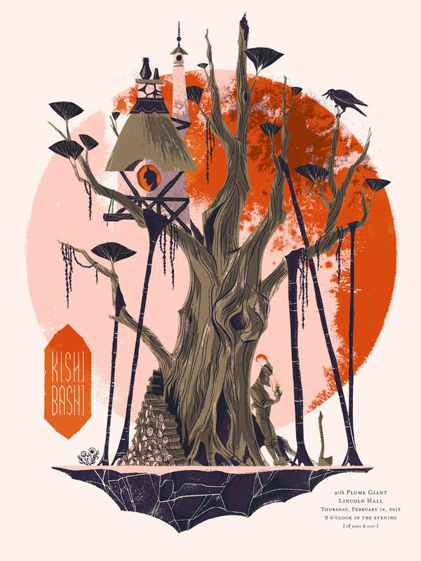 Image of Kishi Bashi Poster #gig #poster