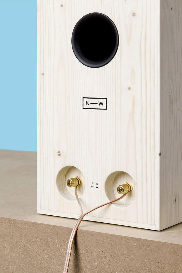 NW3 by neue Werkstatt #minimalist #speakers #design #minimal