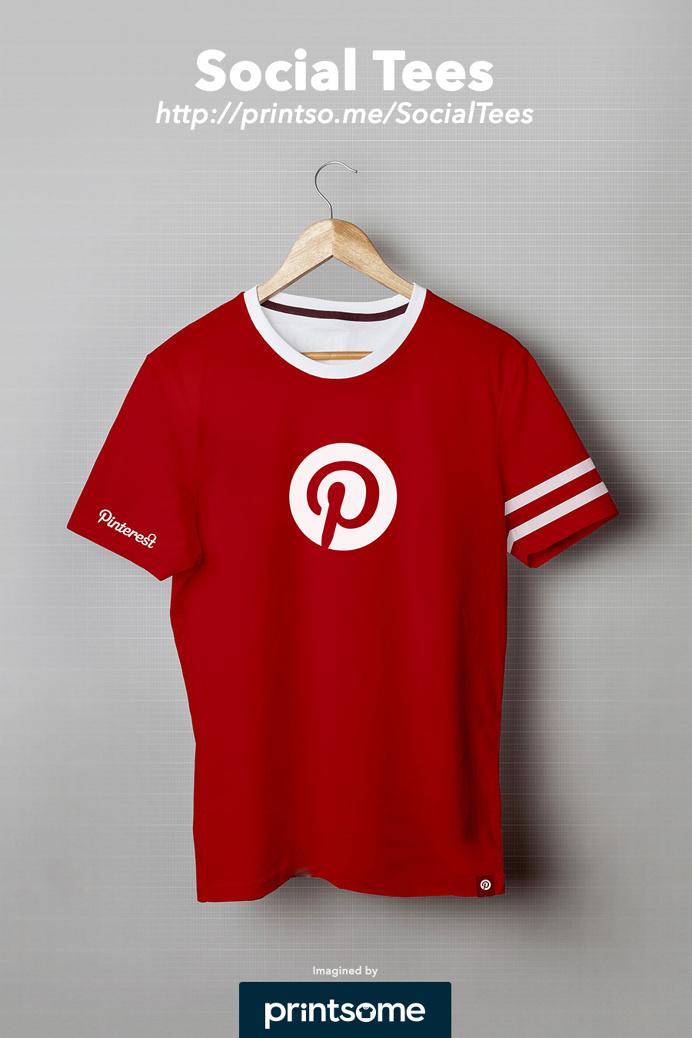 #Pinterest #social #tee #tshirt #clothing #design